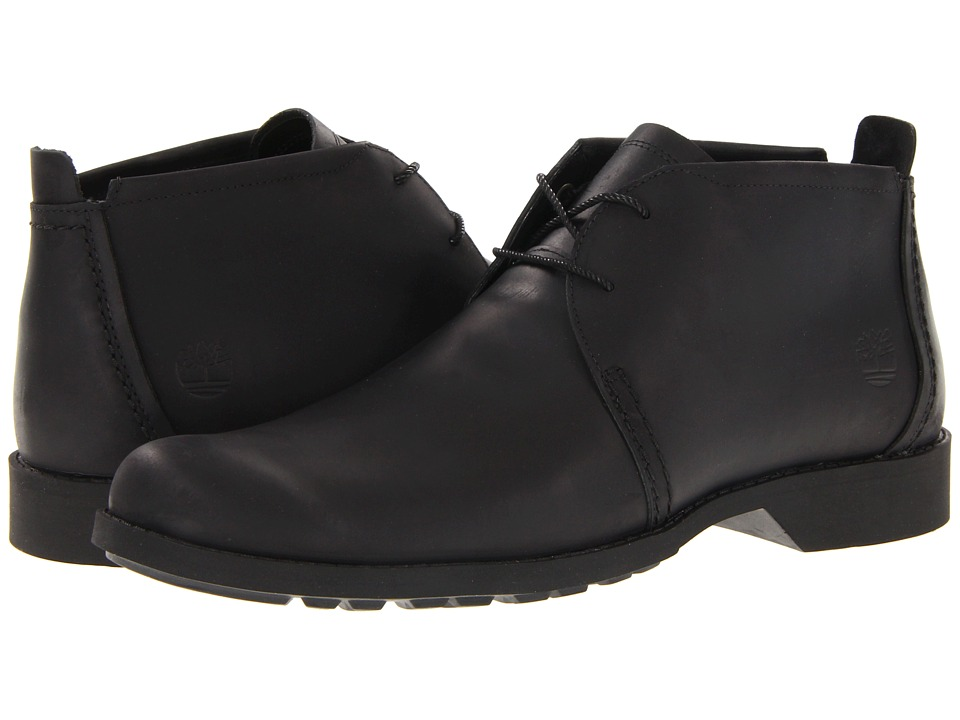 Timberland - Earthkeepers City Lite Chukka (Black) Men's Lace-up Boots