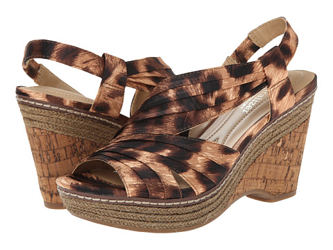 Naturalizer - Lulianna (Cheetah Print Fabric) Women's Wedge Shoes