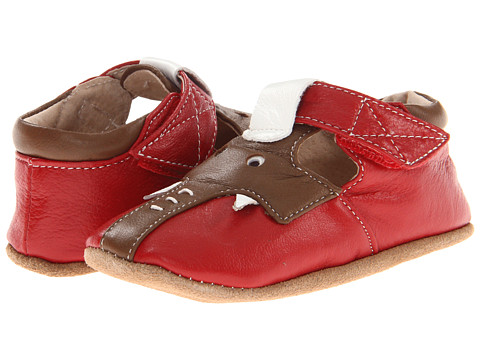 Livie & Luca - Baby Elephant (Infant) (Red/Brown) Kids Shoes