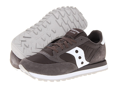 Saucony Originals - Jazz Original (Charcoal/White 274) Men's Classic Shoes