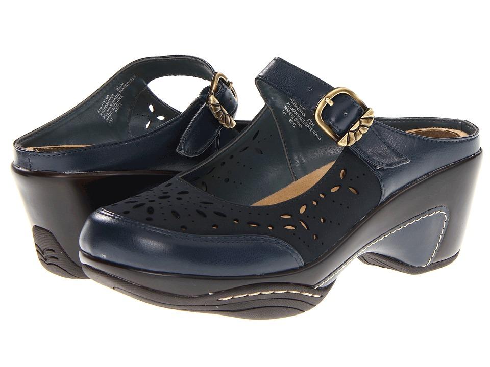Rialto - Viva (Navy) Women's Clog/Mule Shoes