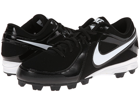 Nike - MVP Keystone Low (Black/White) Men's Cleated Shoes