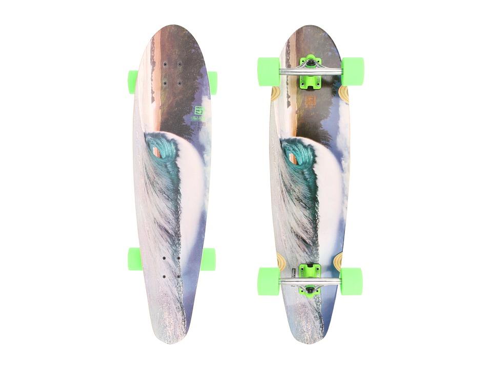 Globe - Congo Pointe (Fluorescent Green) Skateboards Sports Equipment