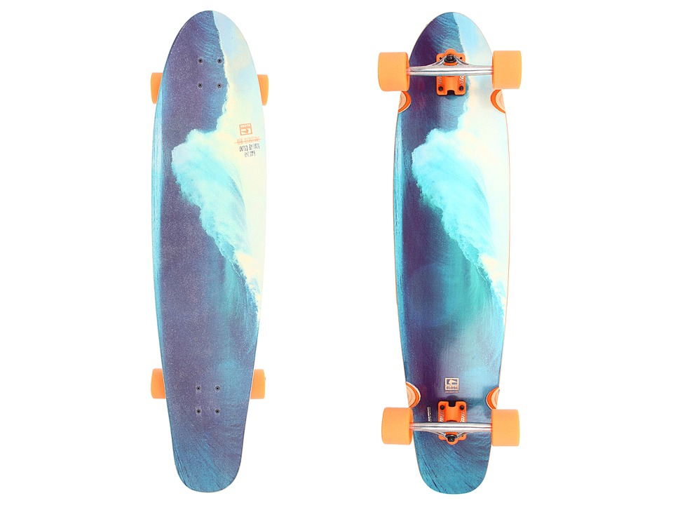 Globe - New Atlantique (Fluorescent Orange) Skateboards Sports Equipment