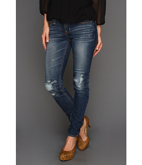 Big Star - Alex Mid Rise Skinny Jean in 16 Year Cabin (16 Year Cabin) Women