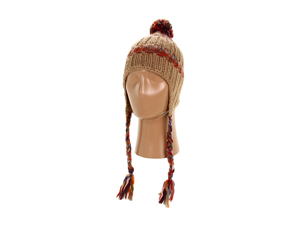 Roxy - Northern Lights Earflap Beanie (Boulder) Beanies