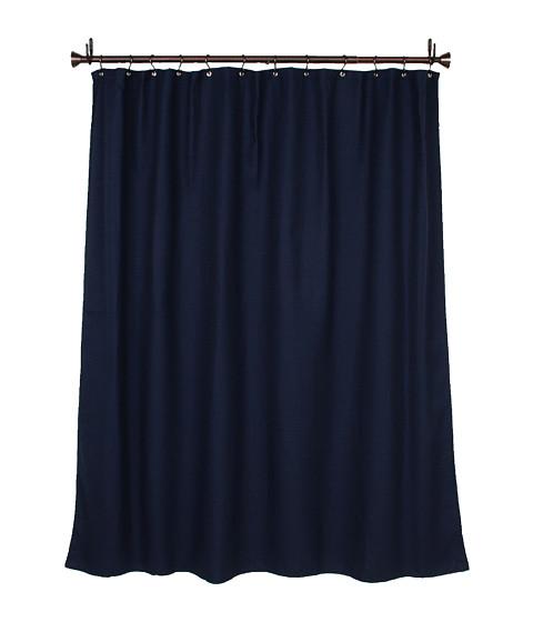 InterDesign York Shower Curtain (Navy) Bath Towels