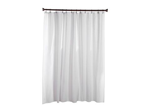 InterDesign York Shower Curtain (White) Bath Towels