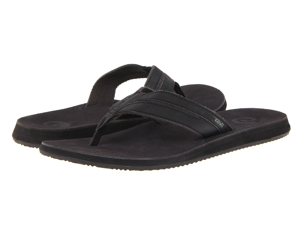 Teva - Eddy (Black) Men's Sandals