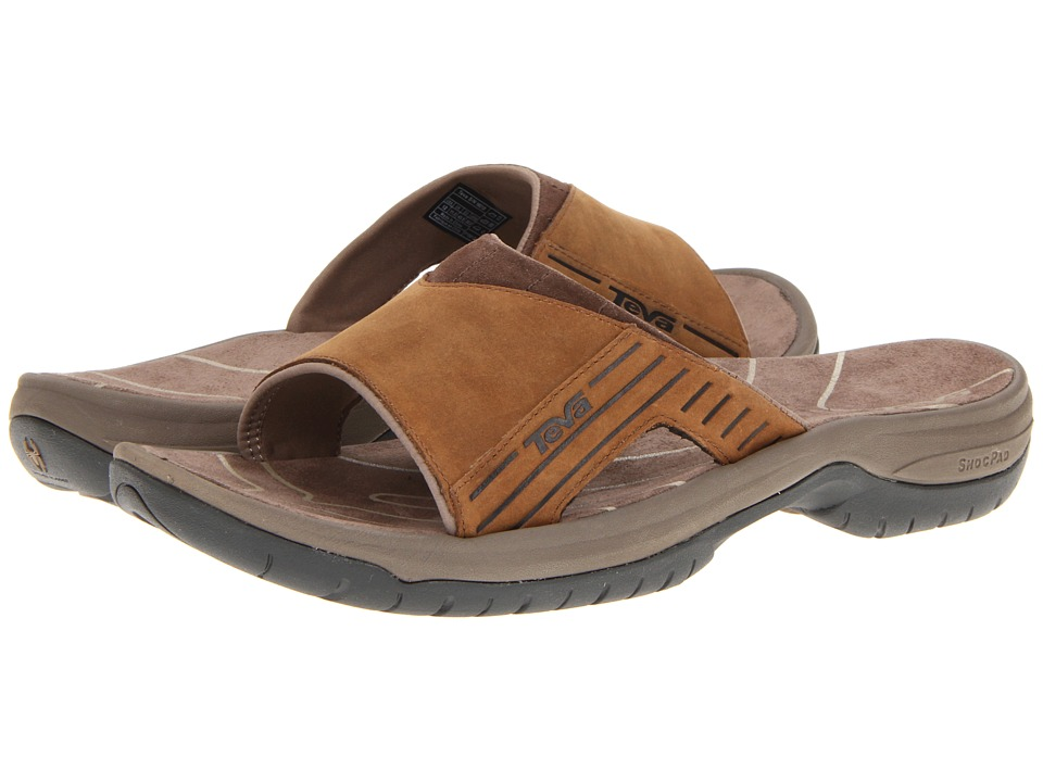 Teva - Jetter Slide (Cigar) Men's Sandals