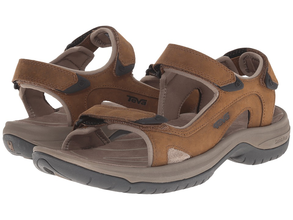 Teva - Jetter (Cigar) Men's Toe Open Shoes