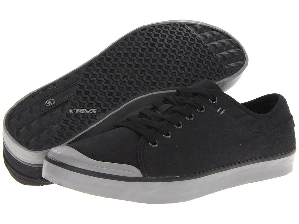 Teva - Joyride Cotton Ripstop (Black) Men's Lace up casual Shoes