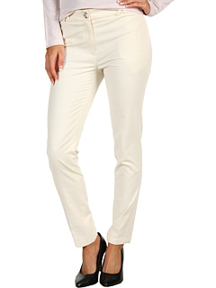 SALE! $74.99 - Save $110 on Lacoste Brushed Stretch Gabardine Cropped Chino (French Vanilla Cream) Apparel - 59.46% OFF $185.00