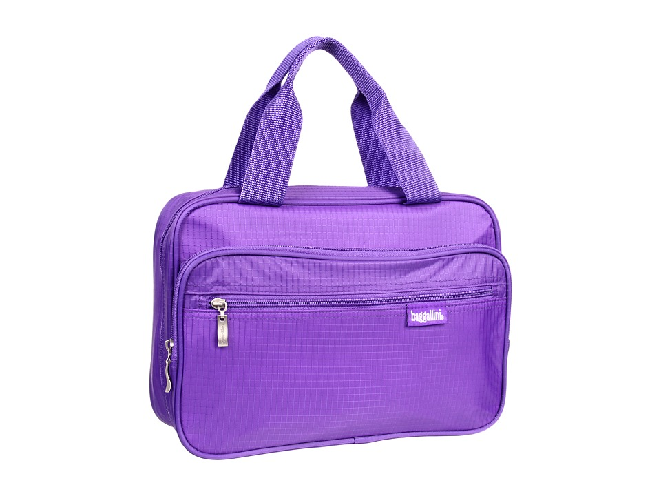 Baggallini - Complete Cosmetic Bagg (Purple Ripstop) Cosmetic Case