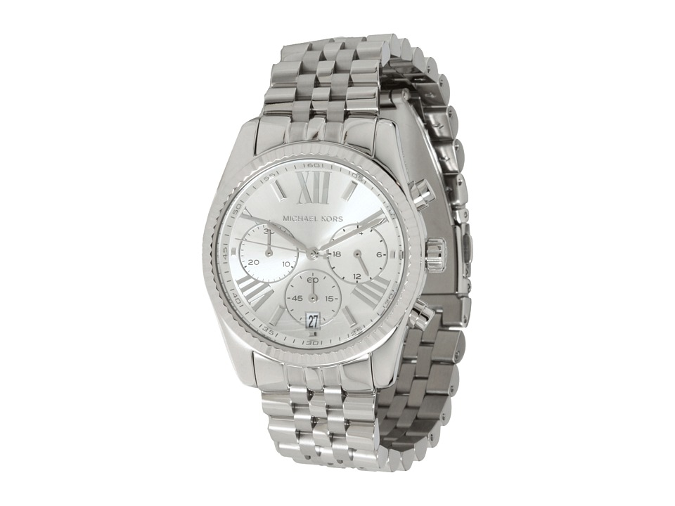 Michael Kors - MK5555 - Vintage Classic Lexington Chronograph (Silver) Chronograph Watches