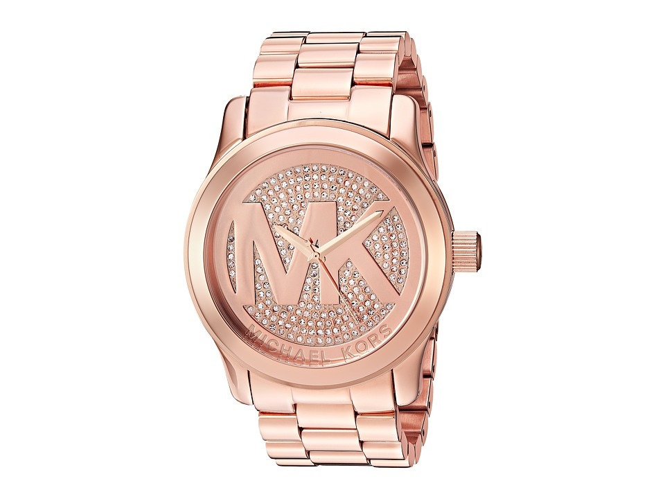 Michael Kors - MK5661 - Uptown Glam Runway (Rose Gold) Chronograph Watches