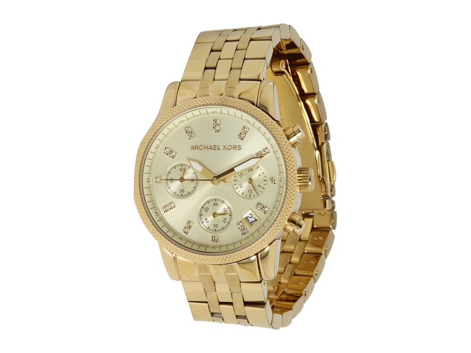 Michael Kors - MK5676 - Ritz Chronograph (Gold) Chronograph Watches