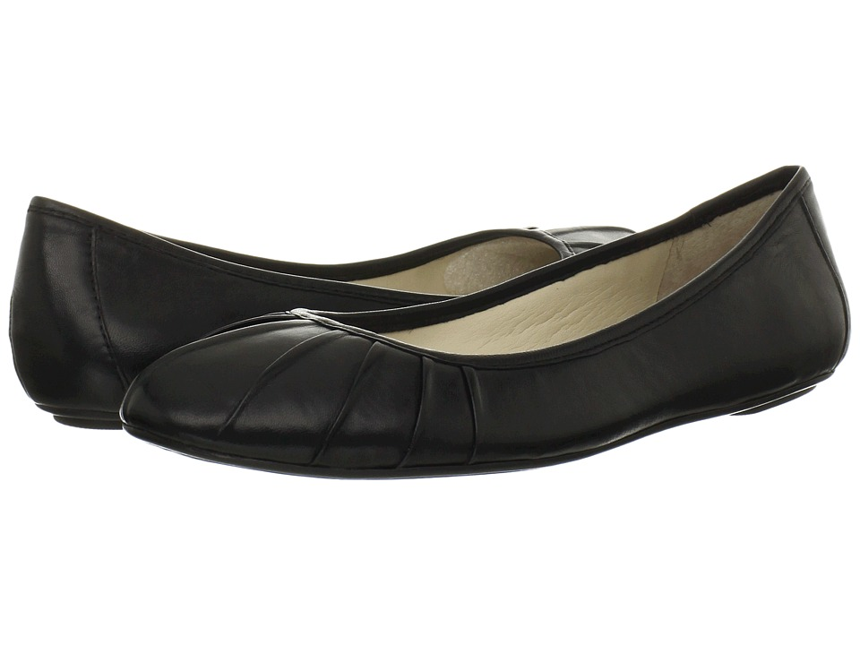 Nine West - Blustery (Black Leather) Women