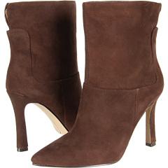 Nine West Justlikeme (Dark Brown Suede) Footwear