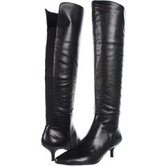 Nine West Risen Shine (Black Black Leather) Footwear