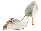 Stuart Weitzman Bridal & Evening Collection - Princess (Ivory Satin) - Footwear