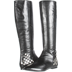 Nine West Sorority (Black Leather) Footwear