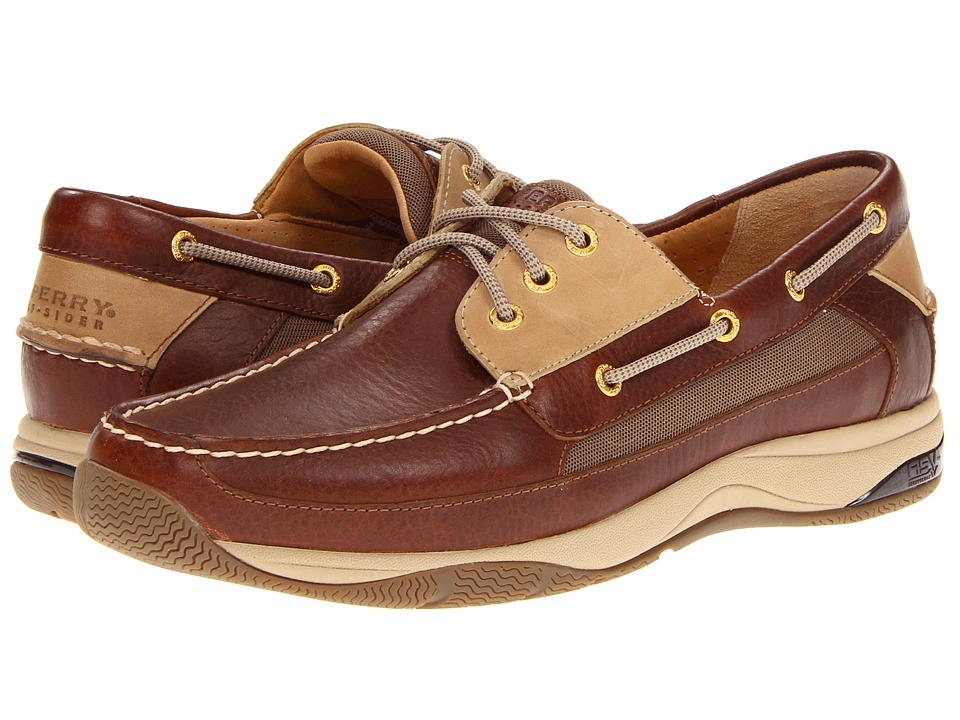 Sperry Top-Sider Gold Billfish w/ASV (Dark Brown/Tan) Men