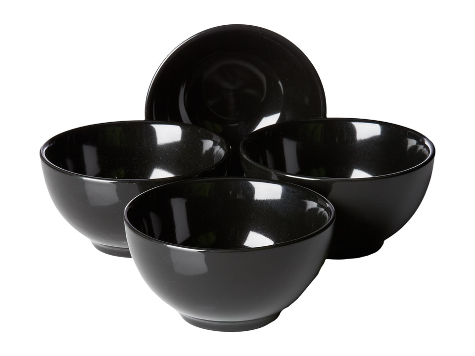 Waechtersbach - Set of 4 Dipping Bowls Fun Factory (Black) Dinnerware Cookware