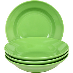 SALE! $11.99 - Save $20 on Waechtersbach Set of 4 Soup Plates Fun Factory (Green Apple) Home - 62.53% OFF $32.00