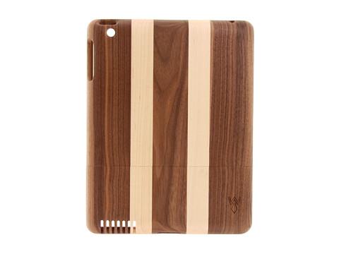 w rkin stiffs Dark Walnut Stripe Tablet Case for iPad (Dark Walnut) Bags