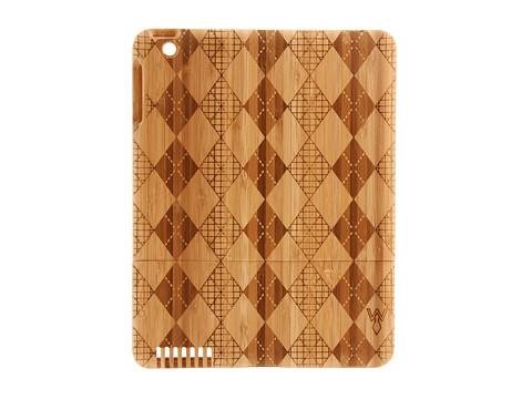 w rkin stiffs Bamboo Argyle Tablet Case for iPad (Argyle) Bags