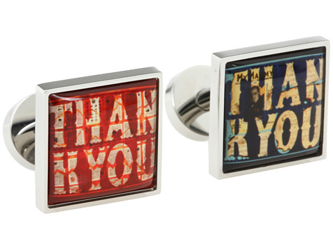 w rkin stiffs - Thank You Cufflinks (Multi) Cuff Links