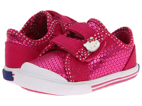 Keds Kids - Hello Kitty - Mimmy HL Crib (Infant/Toddler) (Hot Pink) Girls Shoes