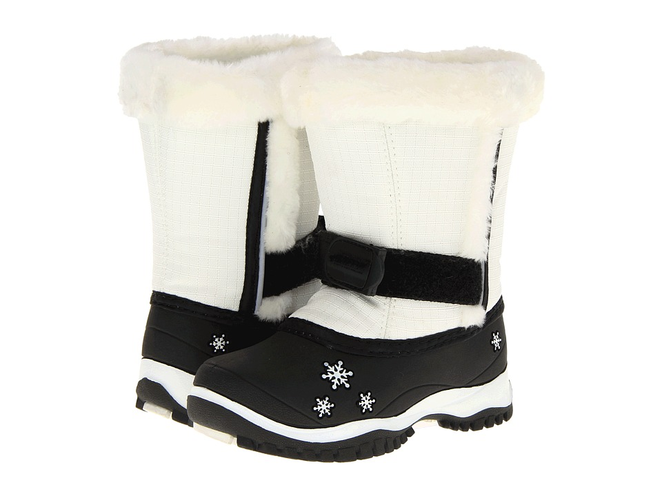 Baffin Kids - Lily (Toddler) (White) Girls Shoes
