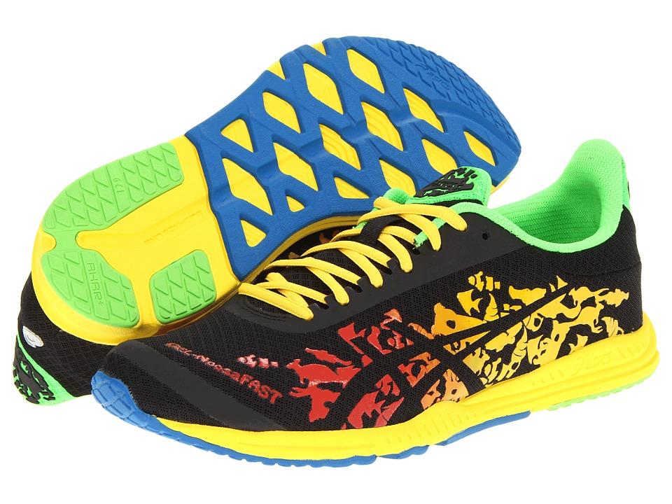 ASICS - GEL-NoosaFAST (Flame/Black/Yellow) Men's Running Shoes