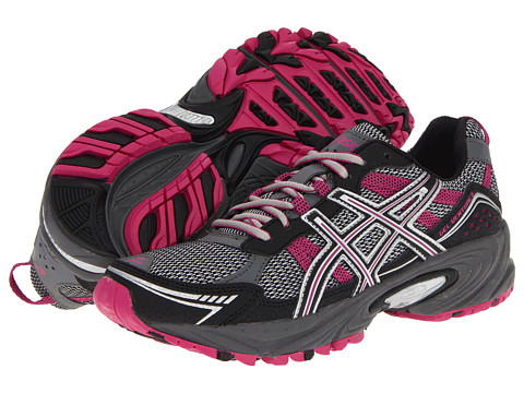 ASICS - GEL-Venture 4 (Charcoal/Black/Magenta) Women's Running Shoes