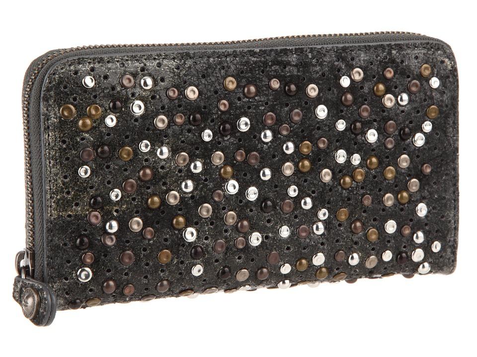 Frye - Deborah Wallet (Slate Glazed Vintage Leather) Wallet Handbags