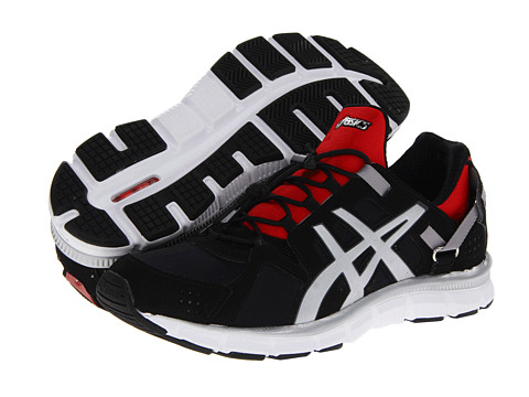 ASICS - Gel-Synthesis (Black/Lightning/Red Pepper) Men