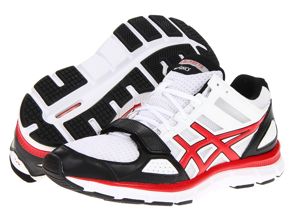 ASICS - Gel-Blur33 TR Mid (White/Sport Red/Black) Men's Shoes