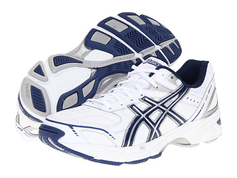 ASICS - Gel-180 TR (White/Navy/Silver) Men's Cross Training Shoes