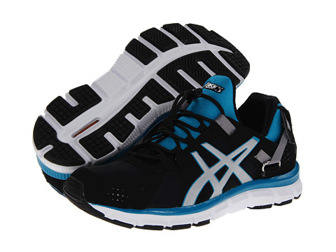 ASICS - Gel-Synthesis (Black/Silver/Island Blue) Women's Cross Training Shoes