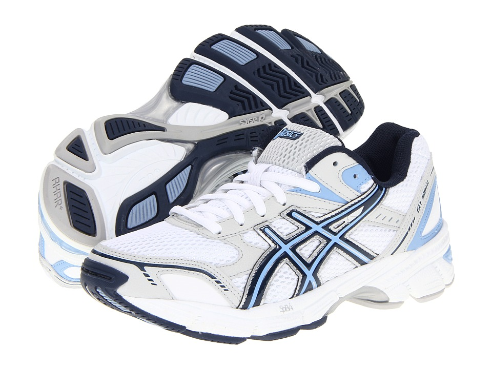 ASICS - Gel-180 TR (White/Navy/Silver) Women's Cross Training Shoes