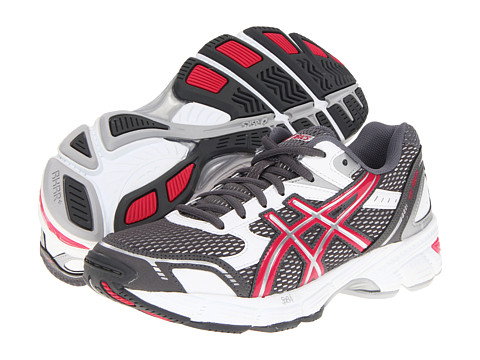 ASICS - Gel-180 TR (White/Raspberry/Charcoal) Women's Cross Training Shoes