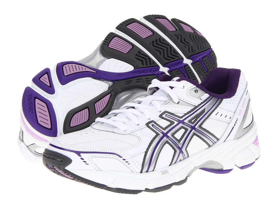 ASICS - Gel-180 TR (White/Silver/Lavender) Women's Cross Training Shoes