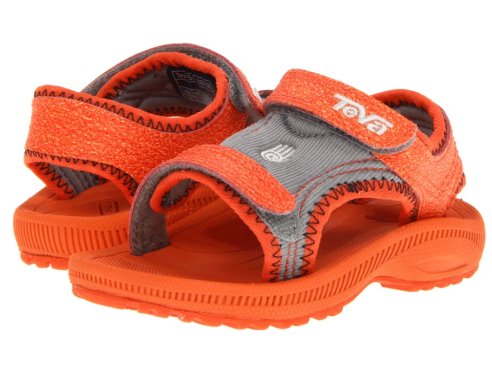 Teva Kids - Psyclone 3 (Toddler) (Orange) Kids Shoes