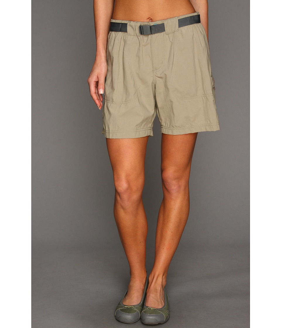 Columbia Sandy Rivertm Cargo Short (Tusk/Metal) Women