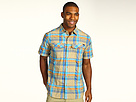 Columbia - Silver Ridge Multi Plaid S/S Shirt (Riptide Large Plaid) - Apparel