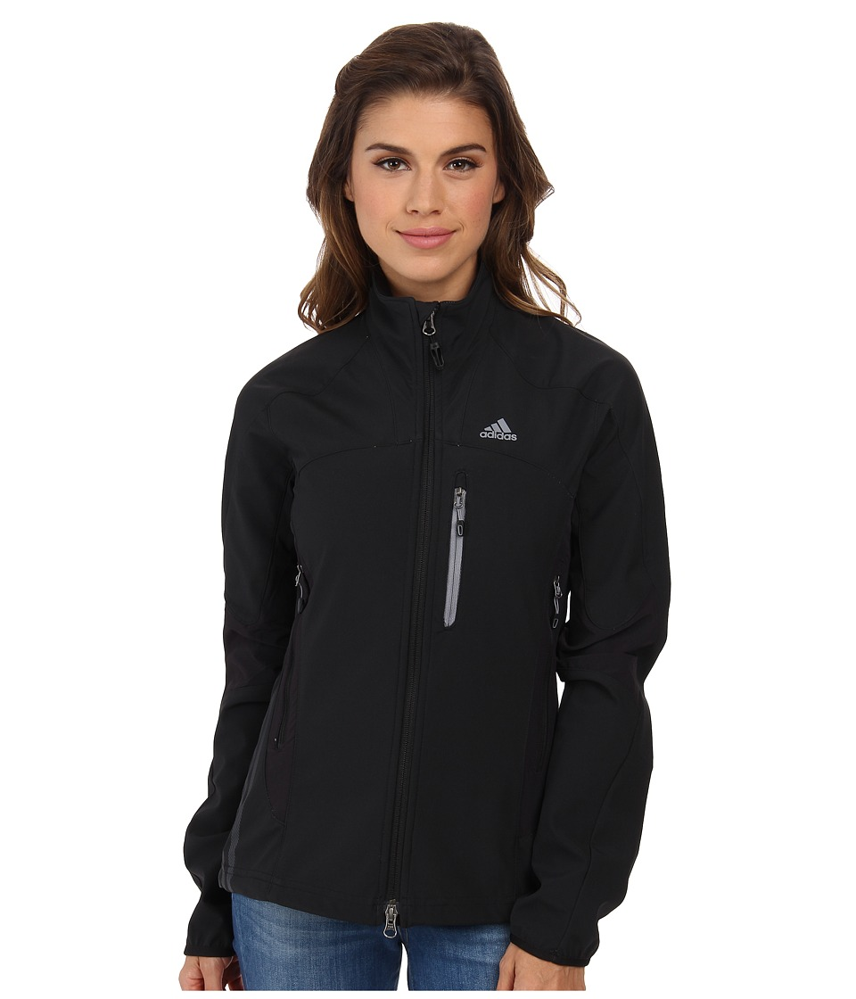 adidas Outdoor - Terrex Swift Soft Shell Jacket (Black) Women's Coat