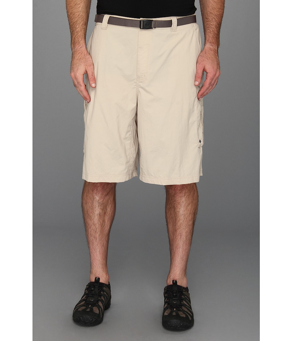Columbia - Big Tall Silver Ridge Cargo Short (42-54) (Fossil) Men's Shorts