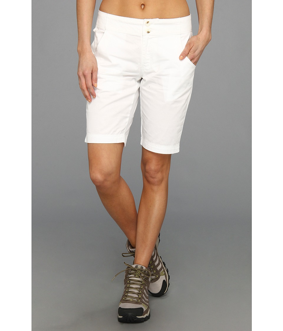 Columbia - Super Bonehead Short (White) Women's Shorts